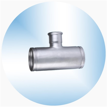 沟槽卡压式管件